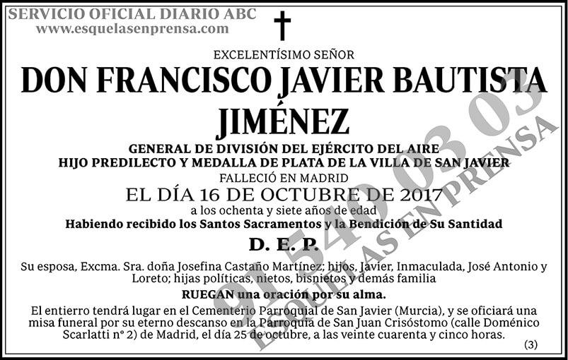 Francisco Javier Bautista Jiménez